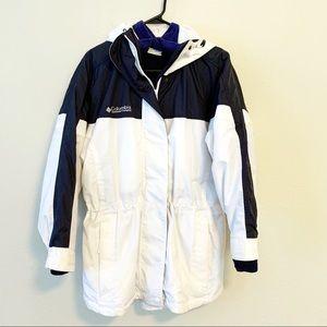 Columbia VTG Ski Winter Jacket Detachable 2-in-1